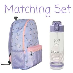 🐕🎒 NWT‼️ Pep Rally brand backpack & Water Bottle